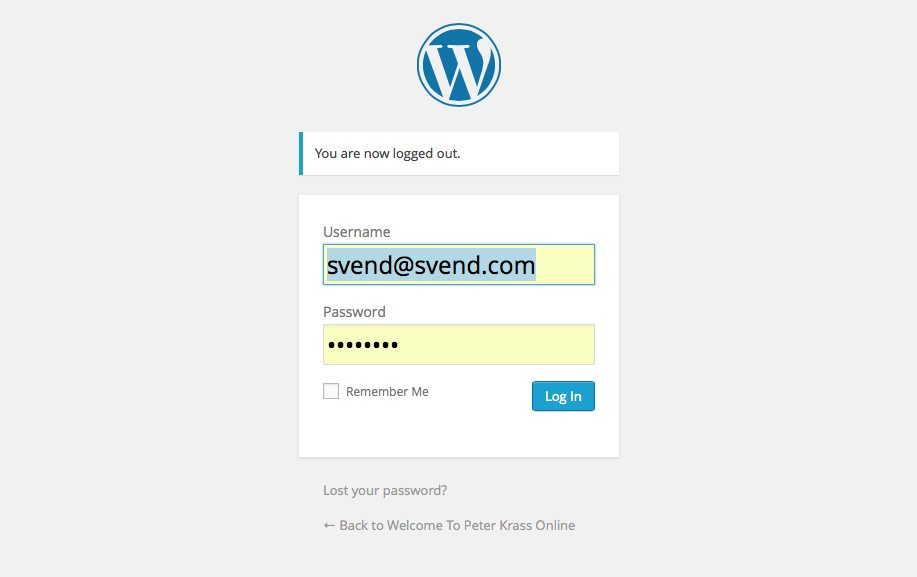log-in-to-wordpress