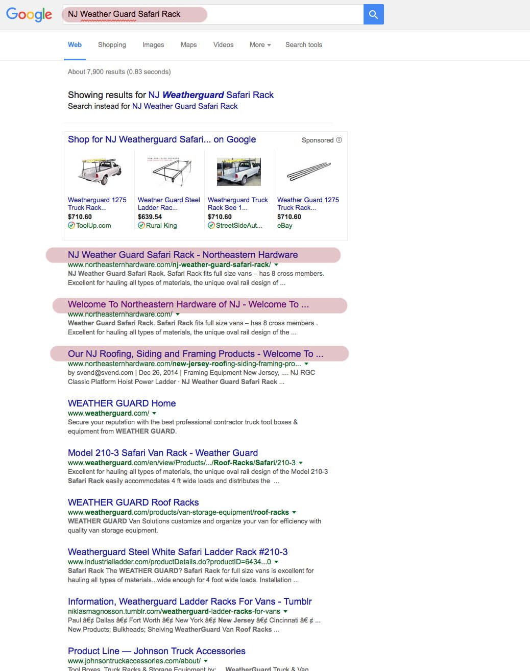 northeastern hardware seo report for nj welcome to design nj weather guard safari rack