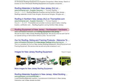 New Jersey Roofing Equipment