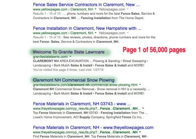 Claremont NH fence sales and install
