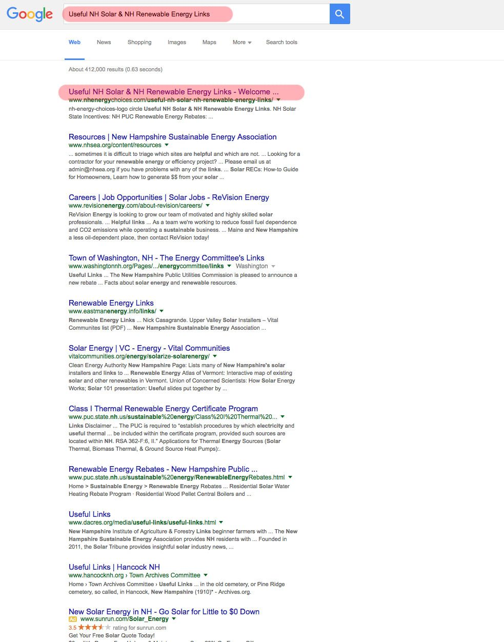 Nh energy choices seo report for nh welcome to svend design useful nh solar nh renewable energy links2 xflitez Gallery