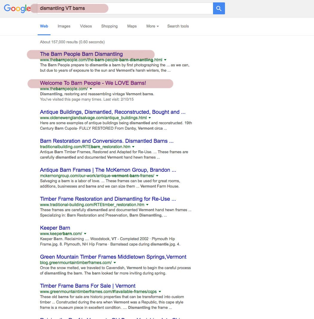 The Barn People SEO Report – USA National Project   WELCOME TO SVEND ...