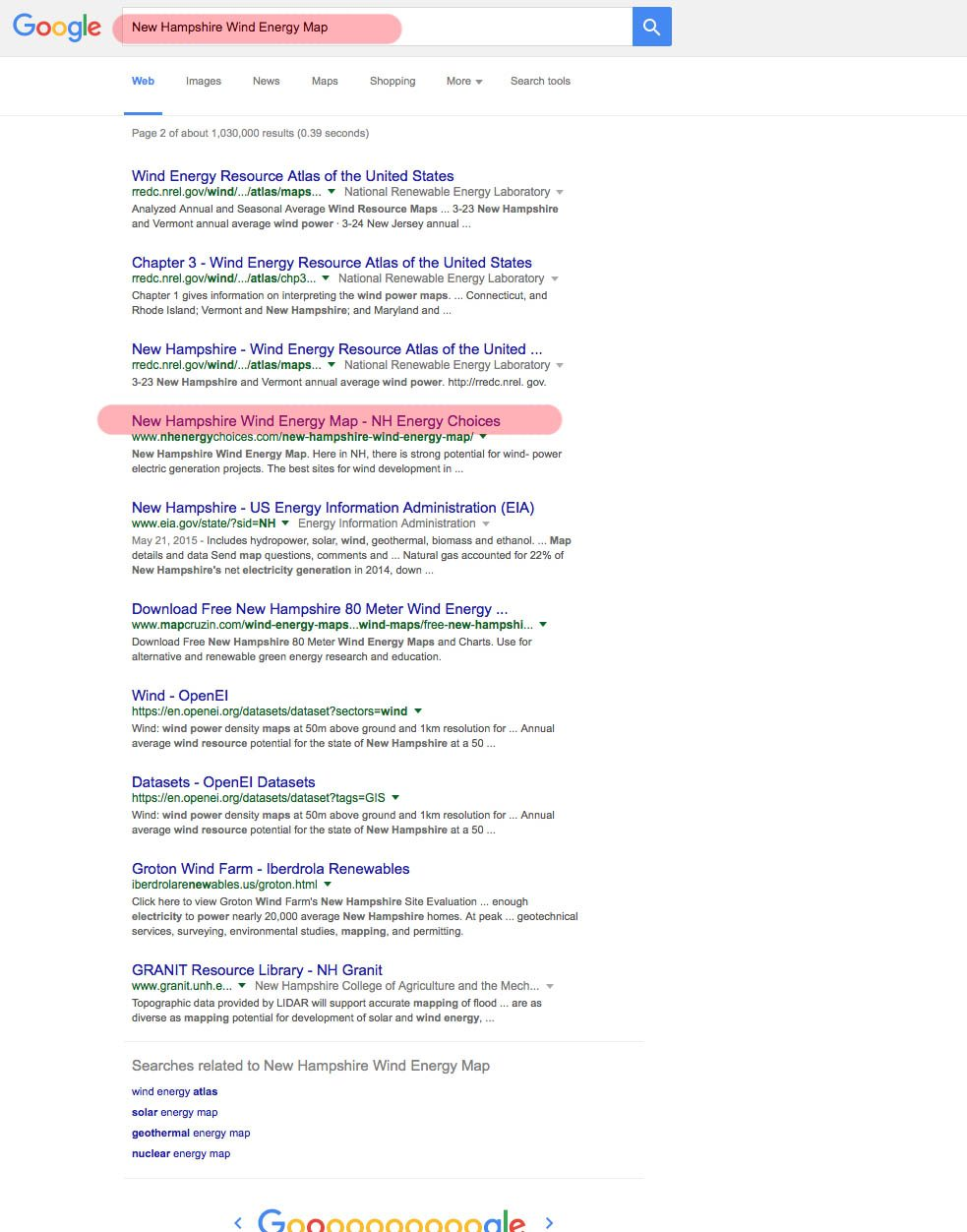 NH Energy Choices SEO Report For NH | WELCOME TO SVEND DESIGN